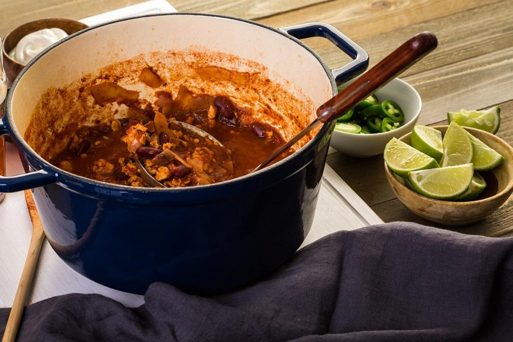 Slow cooker turkey chili, keto recipes for dinner